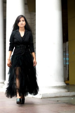 40 Simple Glam Black Tulle Skirt Outfits Ideas 19