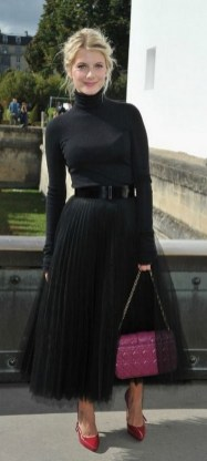 40 Simple Glam Black Tulle Skirt Outfits Ideas 30