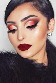 49 Ideas Glam Valentines Night Makeup Look 9