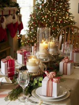 50 How to Arrange a Dining Table for Christmas Occasion 21