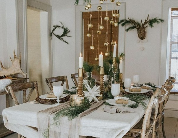 50 How to Arrange a Dining Table for Christmas Occasion 29