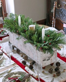 50 How to Arrange a Dining Table for Christmas Occasion 35