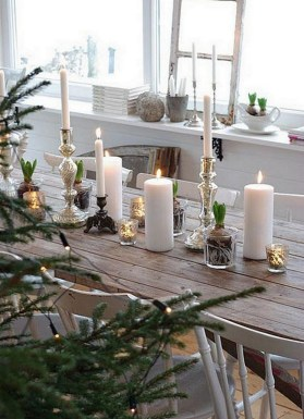 50 How to Arrange a Dining Table for Christmas Occasion 51
