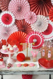 50 Romantic Valentines Party Decoration You Need to See 12