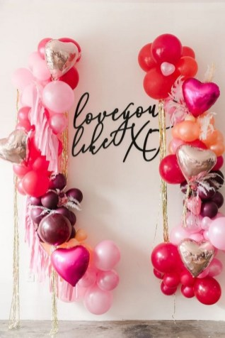 50 Romantic Valentines Party Decoration You Need to See 15
