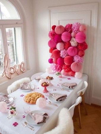 50 Romantic Valentines Party Decoration You Need to See 48