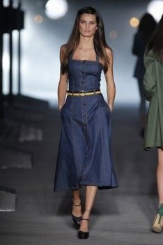 55 Casual Denim Dresses for Outing Ideas 15