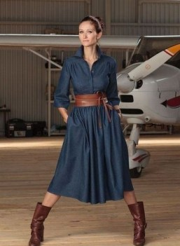 55 Casual Denim Dresses for Outing Ideas 37