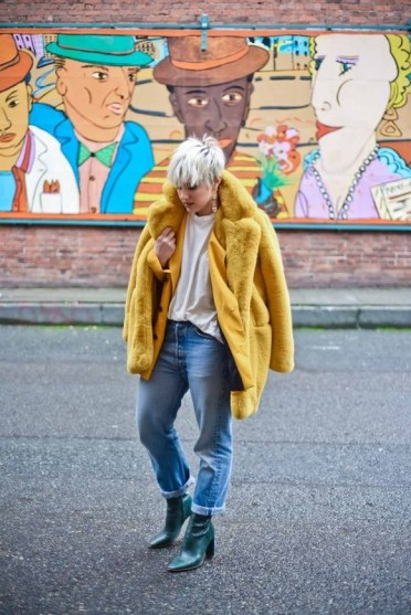 60 Adorable Yellow Outfit for Winter 22