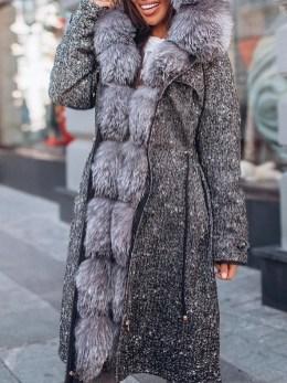 80 Fashionable Women Faux Fur Coats Look 23