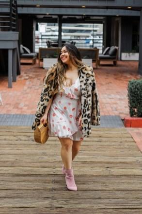 80 Fashionable Women Faux Fur Coats Look 67