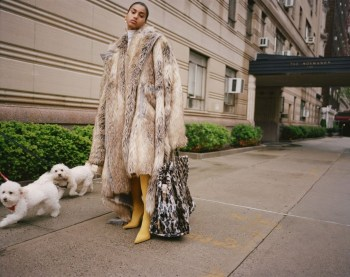 80 Fashionable Women Faux Fur Coats Look 70