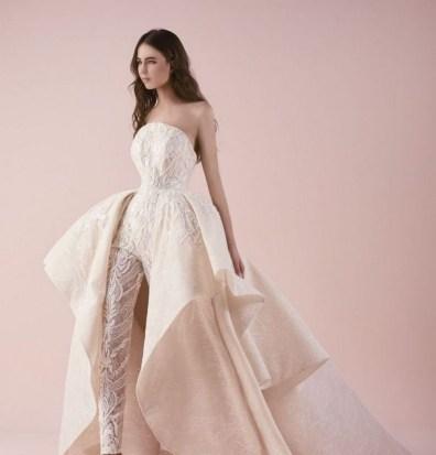 80 Simple and Glam Jumpsuit Wedding Dresses Ideas 32