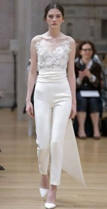 80 Simple and Glam Jumpsuit Wedding Dresses Ideas 44