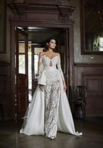 80 Simple and Glam Jumpsuit Wedding Dresses Ideas 56