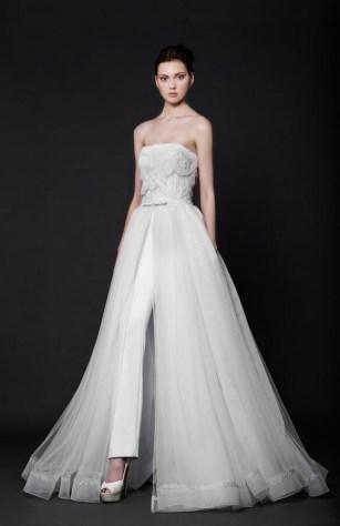 80 Simple and Glam Jumpsuit Wedding Dresses Ideas 63