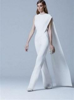 80 Simple and Glam Jumpsuit Wedding Dresses Ideas 65