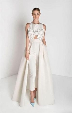 80 Simple and Glam Jumpsuit Wedding Dresses Ideas 67