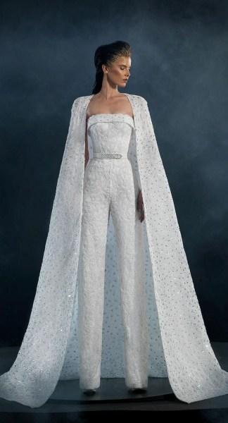 80 Simple and Glam Jumpsuit Wedding Dresses Ideas 77