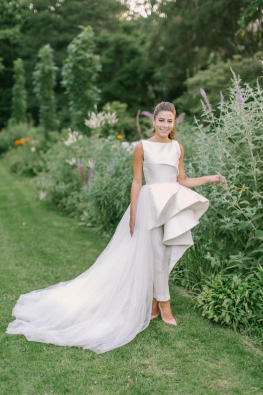 80 Simple and Glam Jumpsuit Wedding Dresses Ideas 79