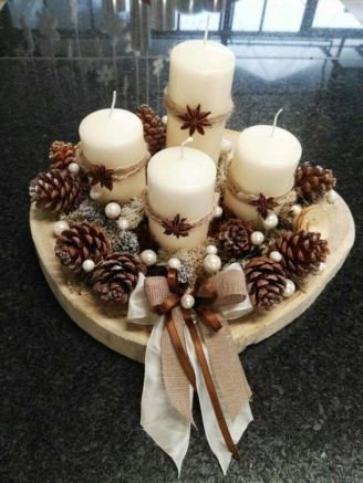 How Stunning Rustic Christmas Decorations Ideas 05