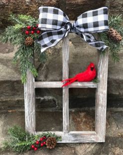 How Stunning Rustic Christmas Decorations Ideas 09