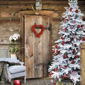 How Stunning Rustic Christmas Decorations Ideas 16
