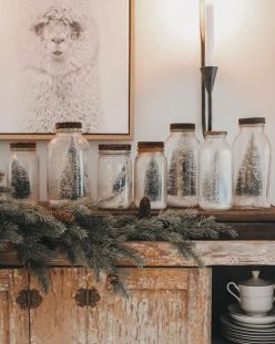 How Stunning Rustic Christmas Decorations Ideas 18