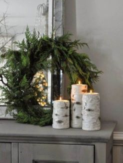 How Stunning Rustic Christmas Decorations Ideas 26