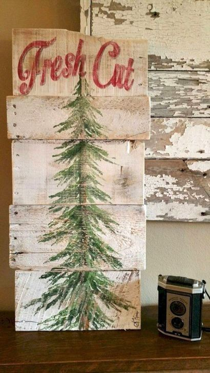 How Stunning Rustic Christmas Decorations Ideas 29