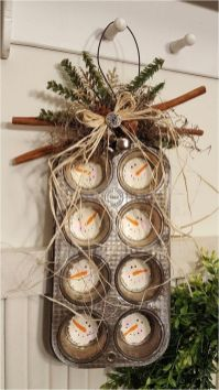 How Stunning Rustic Christmas Decorations Ideas 38