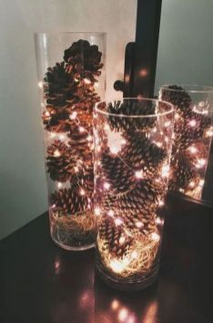How Stunning Rustic Christmas Decorations Ideas 39