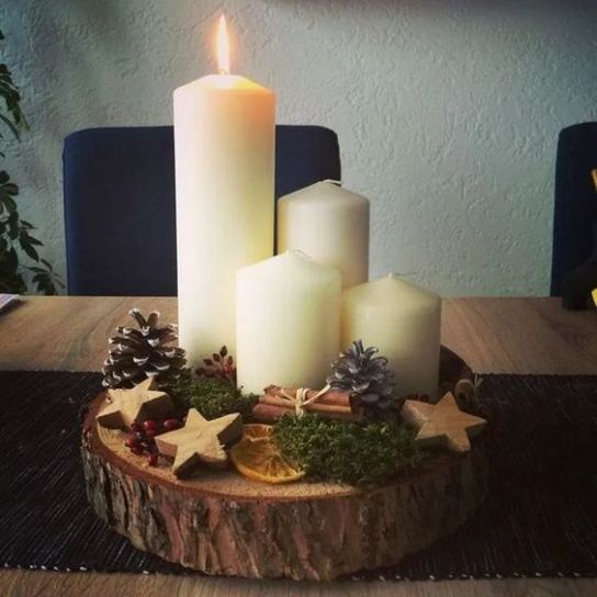 How Stunning Rustic Christmas Decorations Ideas 42