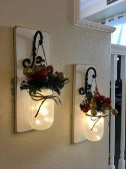 How Stunning Rustic Christmas Decorations Ideas 44