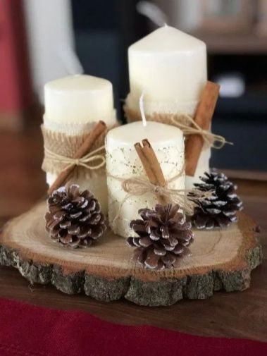How Stunning Rustic Christmas Decorations Ideas 50