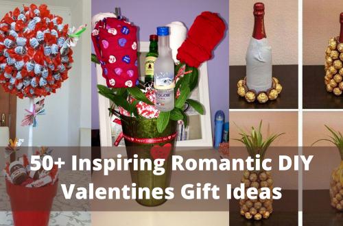 Inspiring Romantic DIY Valentines Gift Ideas