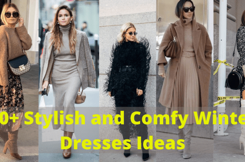 Stylish and Comfy Winter Dresses Ideas