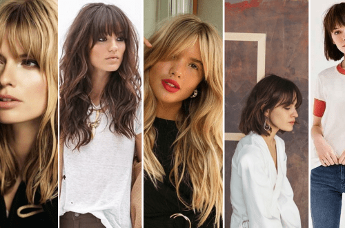 Ways to Look Younger with Stylish Bang Hairstyles
