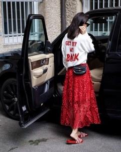 40 How to Wear Waist Bags Ideas 11