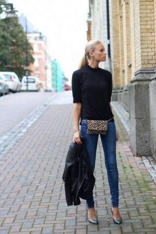 40 How to Wear Waist Bags Ideas 21