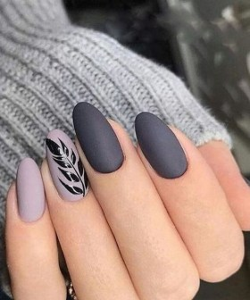 47 Simple Nail Art Design for This Winter Season Inspiration 24