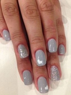 47 Simple Nail Art Design for This Winter Season Inspiration 25