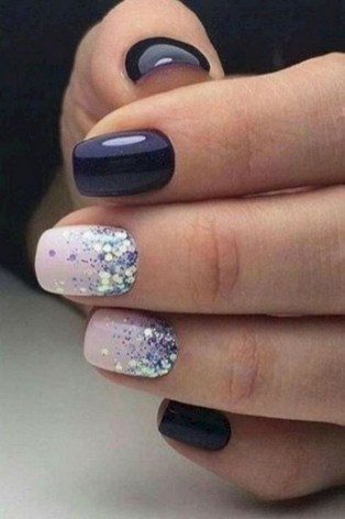 47 Simple Nail Art Design for This Winter Season Inspiration 34
