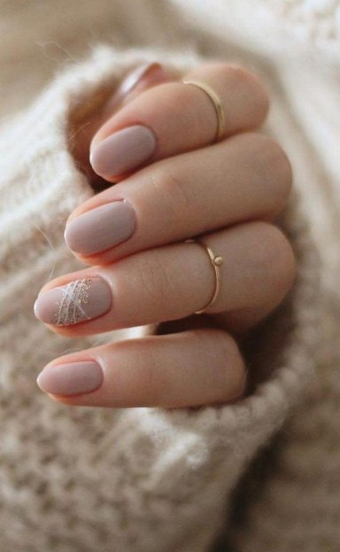 47 Simple Nail Art Design for This Winter Season Inspiration 44
