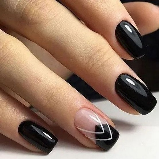 47 Simple Nail Art Design for This Winter Season Inspiration 45
