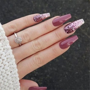 47 Simple Nail Art Design for This Winter Season Inspiration 46