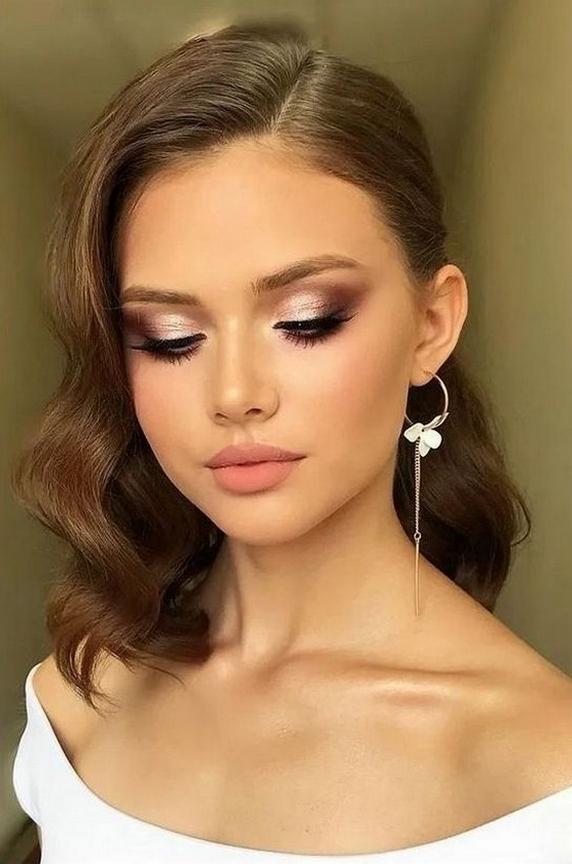 50 Bridal Smokey Eye Makeup Ideas 01