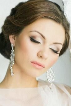 50 Bridal Smokey Eye Makeup Ideas 24