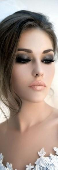 50 Bridal Smokey Eye Makeup Ideas 33