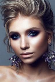 50 Bridal Smokey Eye Makeup Ideas 53